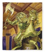 The Green Knight Fleece Blanket
