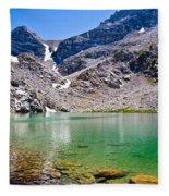 The Green Of Treasure Lake 3  Fleece Blanket