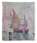 The Green Sail Fleece Blanket