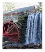 The Grist Mill  Fleece Blanket