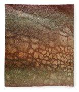 The Ground At My Feet Fleece Blanket