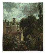 The Grove Or The Admiral's House In Hampstead Fleece Blanket