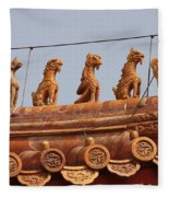 The Guardians Of The Forbidden City Fleece Blanket