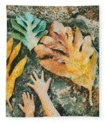 The Hands 2 Fleece Blanket
