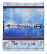 The Hangout Fleece Blanket