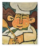 The Happy Chef Fleece Blanket