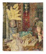 The Harem Fleece Blanket
