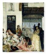 The Harem Fleece Blanket