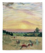 The Harvest Fleece Blanket