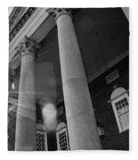 The Haunted Auditorium Fleece Blanket