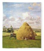 The Haystack Fleece Blanket