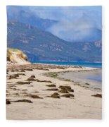 The Hazards From The Beach Fleece Blanket
