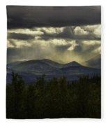 The Heavens And The Earth Fleece Blanket