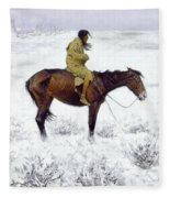 The Herd Boy Fleece Blanket