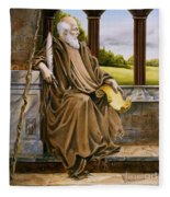The Hermit Nascien Fleece Blanket