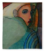 The Hiding Child Within Fleece Blanket