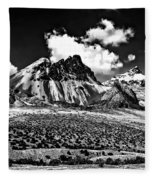 The High Andes Monochrome Fleece Blanket