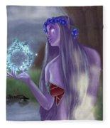 The High Priestess Fleece Blanket