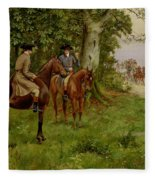 The Highwaymen Fleece Blanket