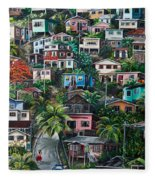 The Hill     Trinidad  Fleece Blanket