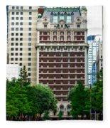The Historic Adolphus Hotel Fleece Blanket