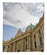 The Hofberg In Vienna Fleece Blanket