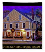The Holderness General Store Fleece Blanket