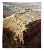The Holy Land: Masada Fleece Blanket