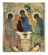 The Holy Trinity Fleece Blanket