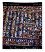 The Hood - Planet Art Fleece Blanket