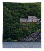 The House By The Llyn Peris Fleece Blanket