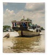 The Houseboat Fleece Blanket