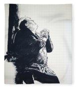 The Hunchback Of Notre Dame Fleece Blanket