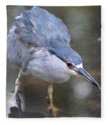 The Hunt Is On Fleece Blanket