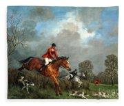 The Hunt Fleece Blanket