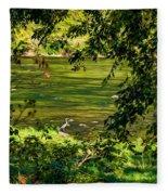 The Hunter - Paint Fleece Blanket