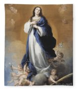 The Immaculate Conception  Fleece Blanket
