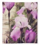 The Iris Undaunted Fleece Blanket