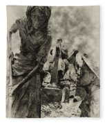 The Irish Famine Fleece Blanket