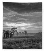 The Iron Horse A New Dawn 7 Fleece Blanket