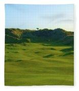 The Island Golf Club - Hole #5 Fleece Blanket