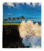 The Jack Nicklaus Signature Hualalai Golf Course Fleece Blanket