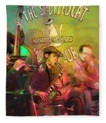 The Jazz Vipers In New Orleans 02 Fleece Blanket