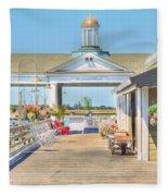 The Jekyll Wharf Fleece Blanket