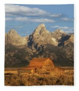The John Moulton Barn Fleece Blanket