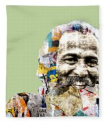 The Journalist Fleece Blanket