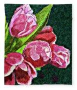 The Joy Of Spring Fleece Blanket