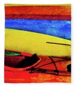 The Kayaks Fleece Blanket