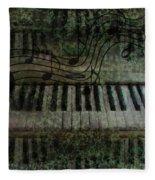 The Keyboard Fleece Blanket