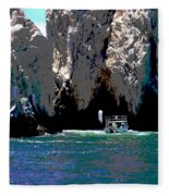 The Keyhole Mexico Cabo San Lucas Fleece Blanket